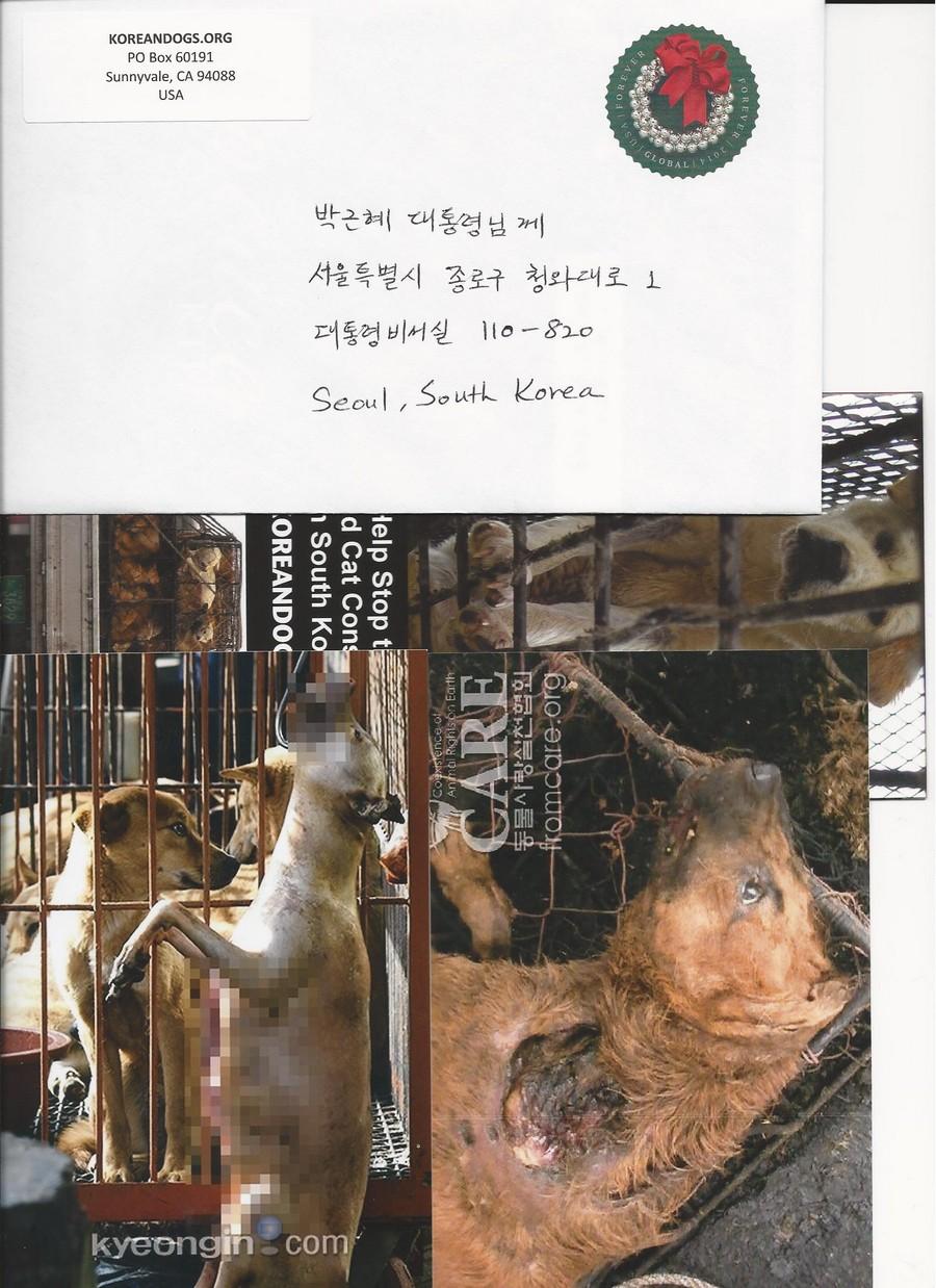 2014 greeting cards to korean president geun hye park121814 m4hsunfo