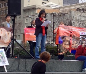 Giny Woo, Koreandogs.org talked about her campaign to end the South Korean dog and cat meat cruelty.