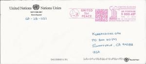 UN Response envelope for letter to UN SG Ban Ki-Moon