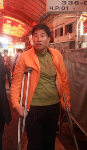 Gupo Market Dog Meat Trade Association President. Photo: Nami Kim.