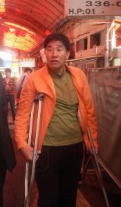Gupo Market Dog Meat Trade Association President. Photo: Nami Kim.