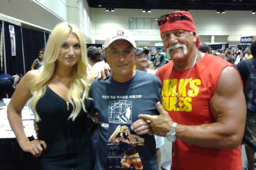 Hulk and Brooke Hogan with Bob Heisler_041215