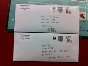 Chungcheongnamdo Sister State Campaign Petition Letters