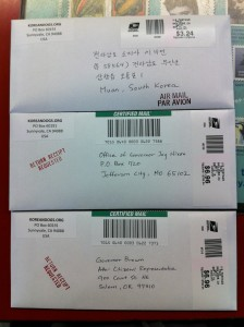 Jeollanamdo Sister State Campaign Petition Letters