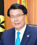 Jecheon Mayor Keun-Kyu Lee