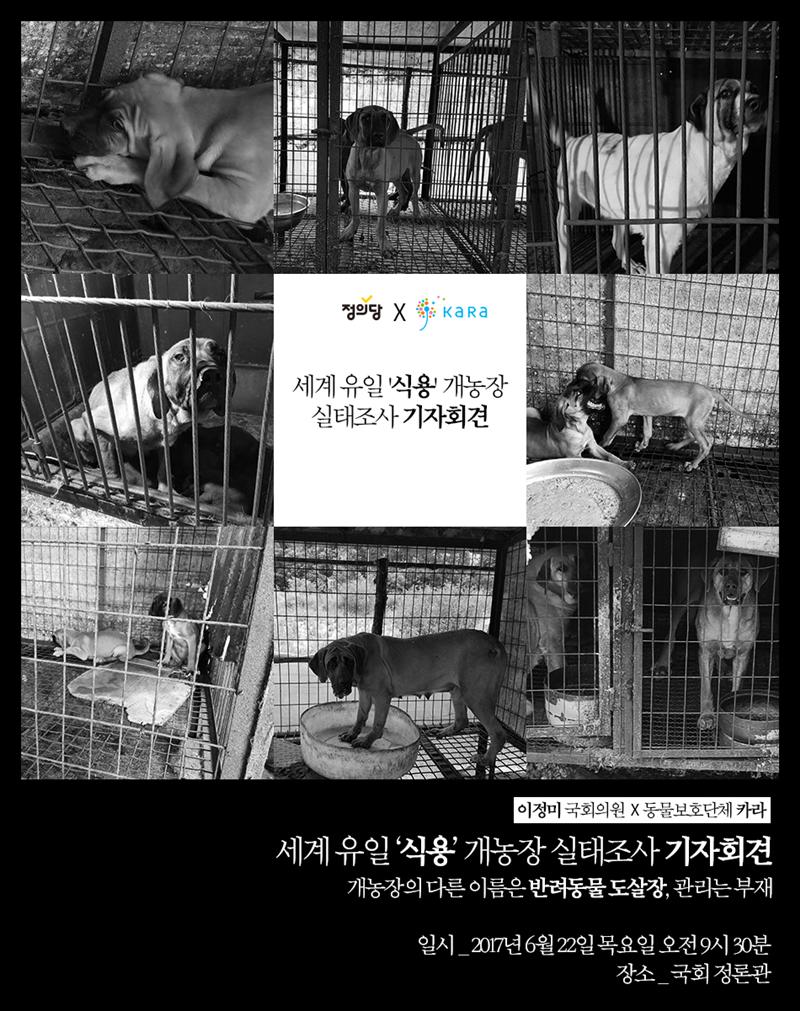 KARA Press Conf on dog farm survey