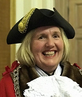 The Royal Borough of Kingston upon Thames, London Mayor Julie Pickering