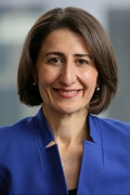 New South Wales Premier Gladys Berejiklian