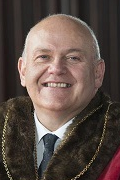The Lord Provost of Aberdeen Barney Crockett