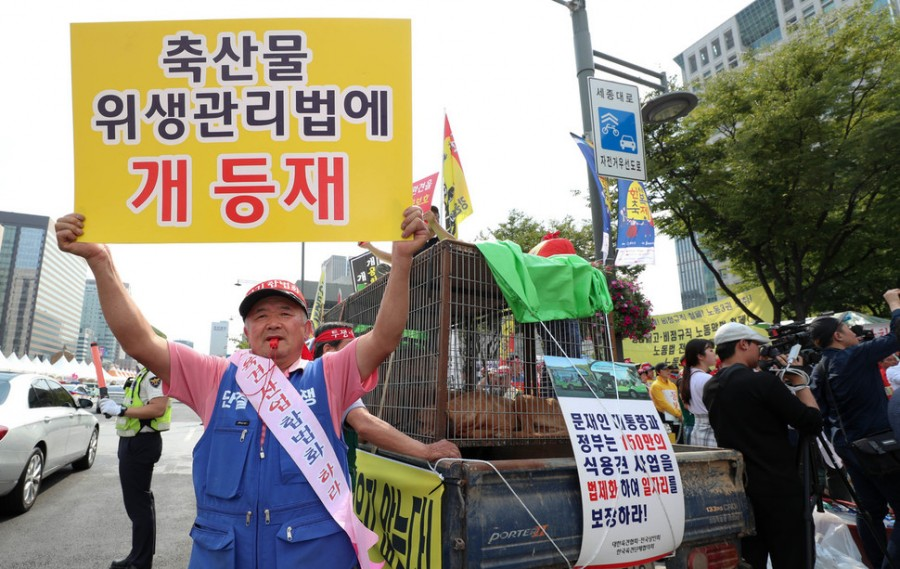 Dog farmers demand that their industry be legalized - Hankyoreh 100817